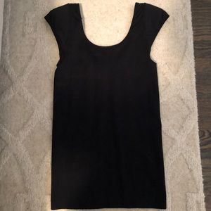 BCBB capped sleeve top